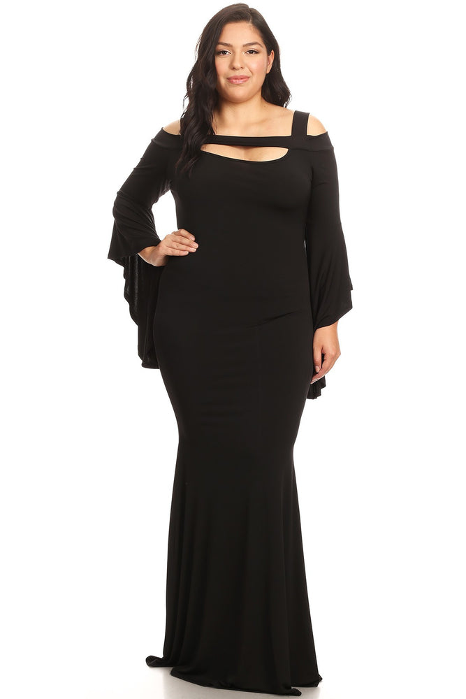 Black Lillian Maxi Dress