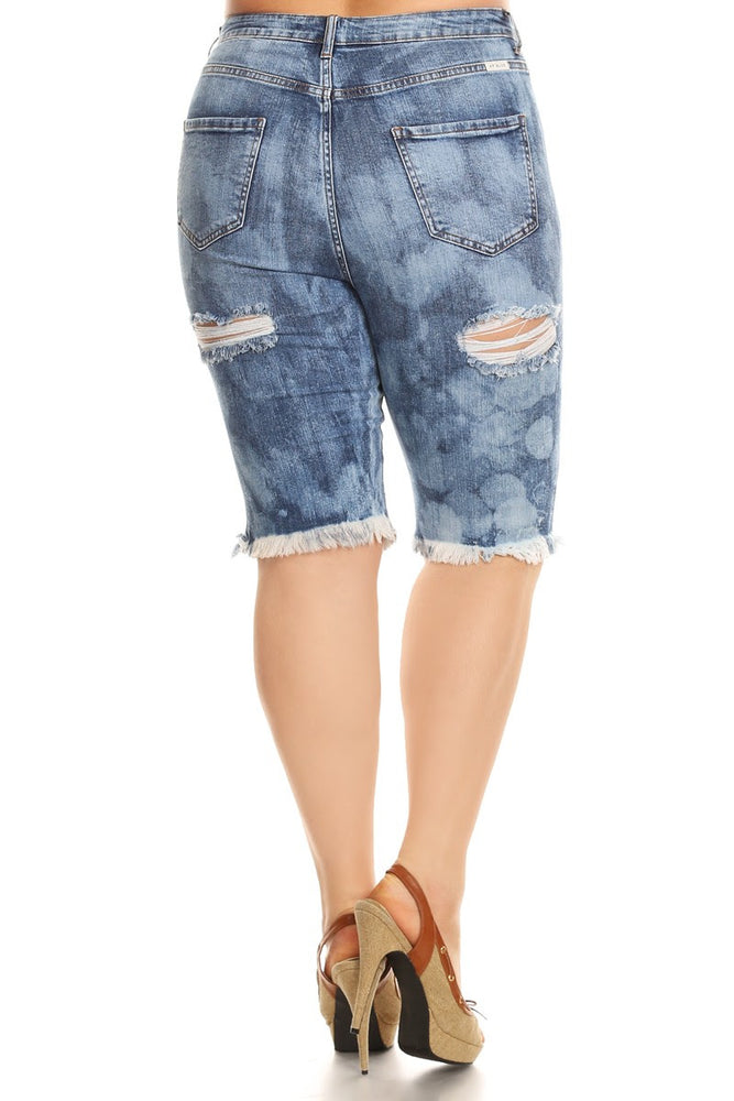 Bleach Heavy Destruction Bermuda Shorts