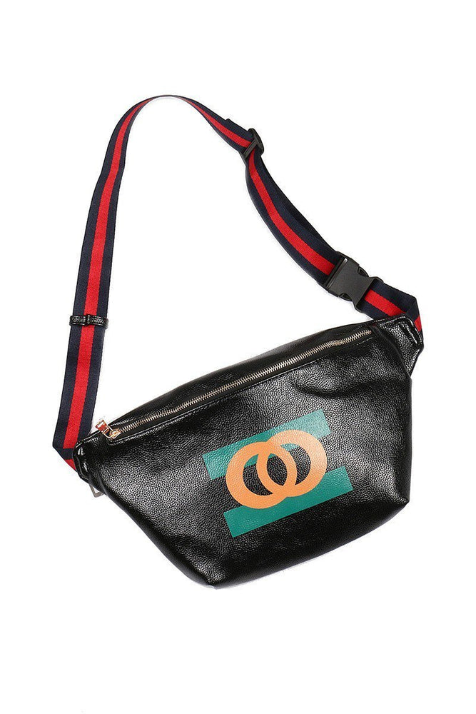 Black Chic Fanny Pack