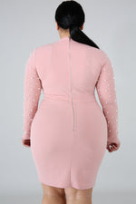 Blush Skylar Pearl Body-Con Dress