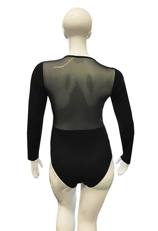 Black Hook Eye Body-Suit