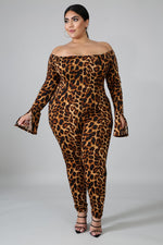 Miko Animal Print Catsuit