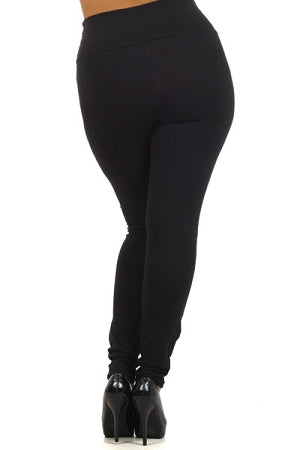 Ram Faux Leather Leggings