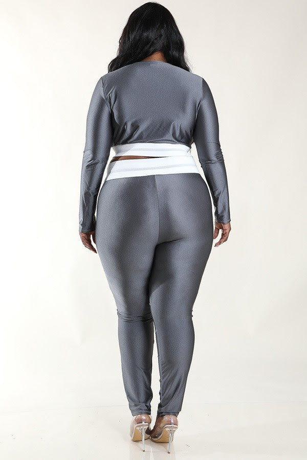 Silver Ryder Legging Set