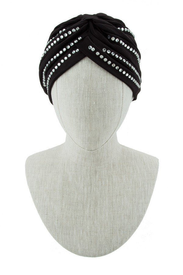 Crystal Accent Turban