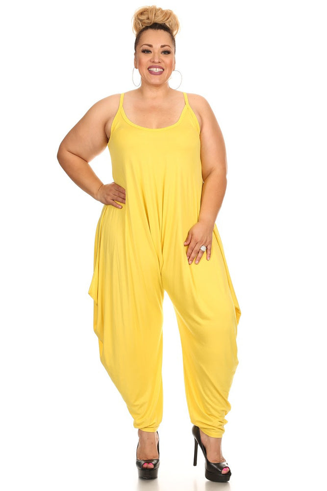 Yellow Bree Long Baggy Jumpsuit