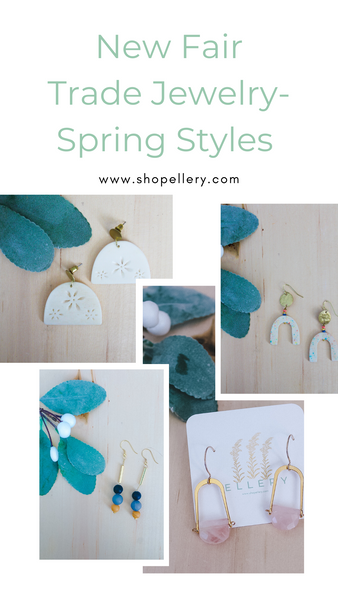 New Fair Trade Jewelry- Spring Styles