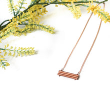 Load image into Gallery viewer, Adeline Rose Gold Necklace