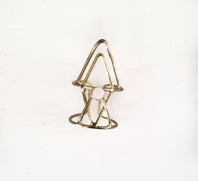 Hex Triangle Ring