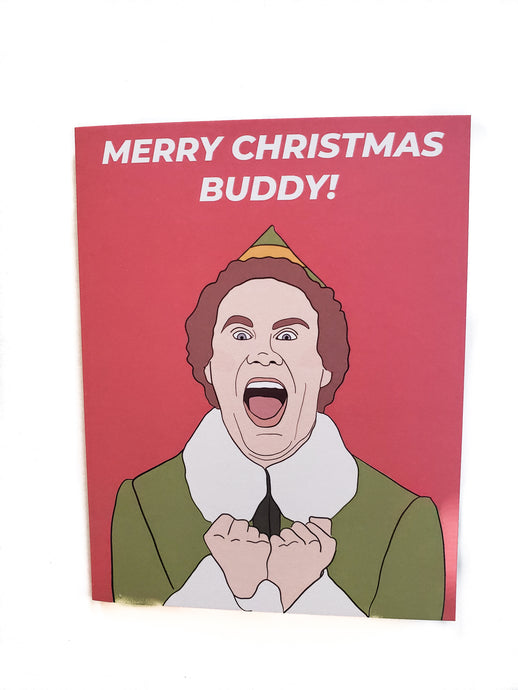 Buddy the Elf - Holiday Card