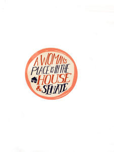 Women's Place Sticker
