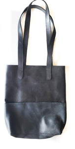 Outside Pockets Handbag Black