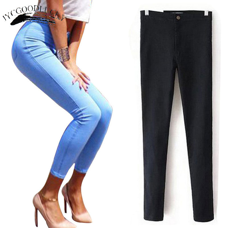 Jeans For Women Stretch Black Jeans Woman 2018 Pants Skinny Women Jeans - shopmendez