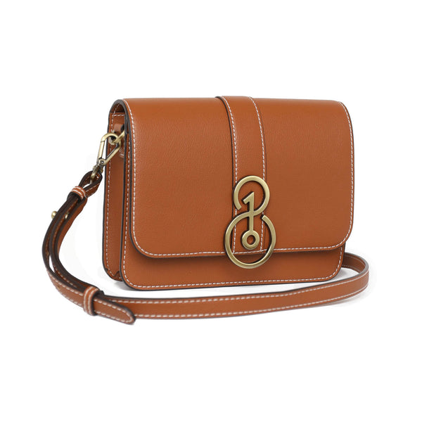 Convertible Crossbody - Saddle Tan