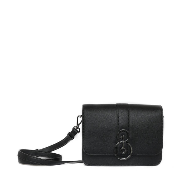 TheOne08 Convertible Crossbody in Black