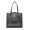 TheOne08 Square Tote in Black