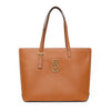 East/West Tote - Saddle Tan