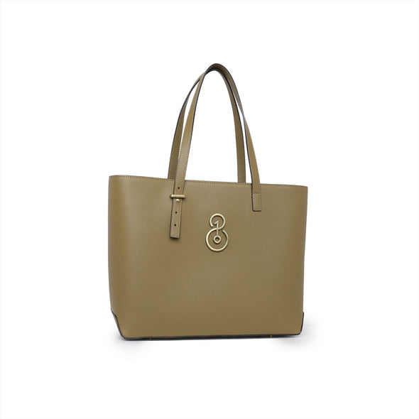 TheOne08 East/West Tote in Olive