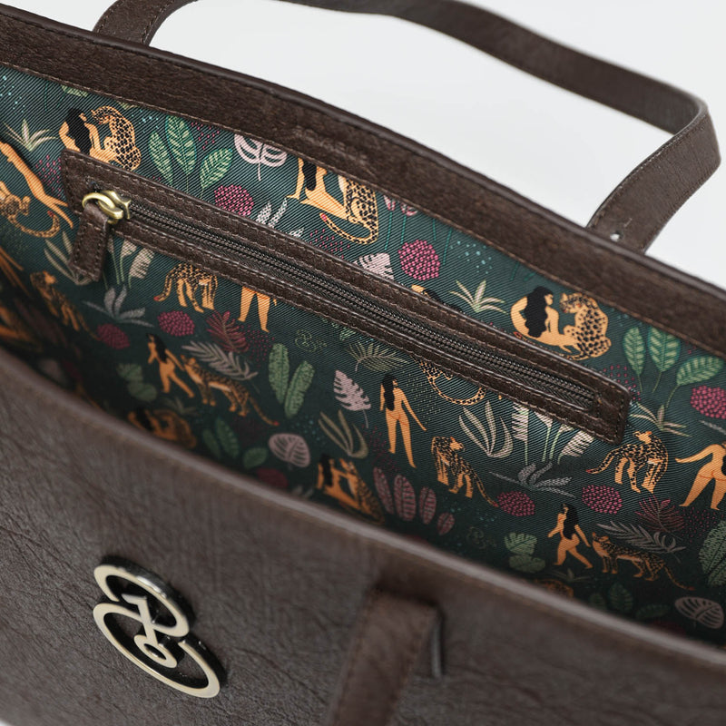 Limited Edition Pineapple Leather Tote