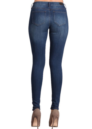 Not Your Basic Skinny (Blue Denim Wash)