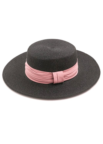 Girly Ribbon Straw  Hat