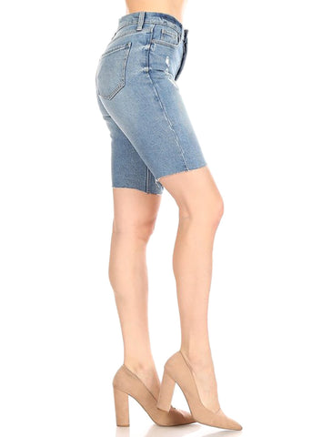 Bermuda Tri Denim Shorts
