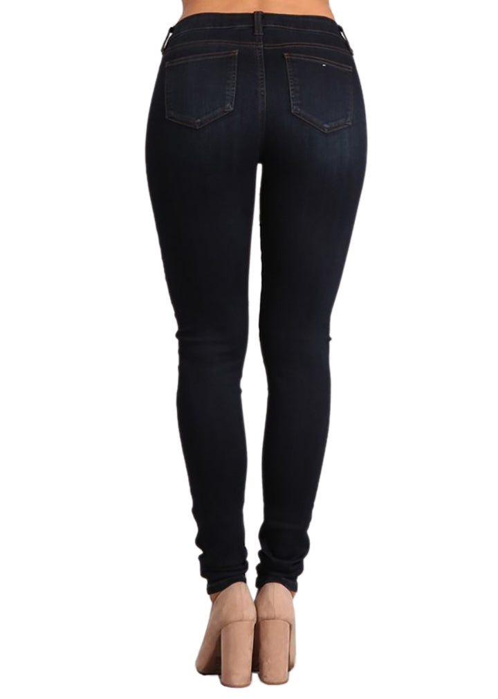 Not Your Basic Skinny (Dark Blue Wash)