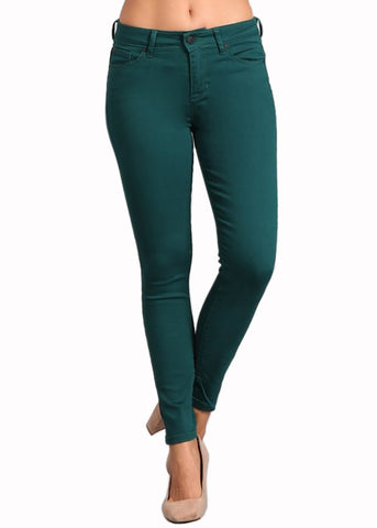 Green Fingerpant Skinnies
