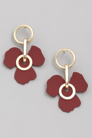 Flower Power Drop Earrings