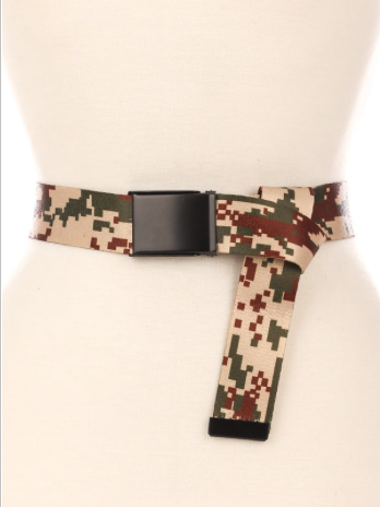 Light Camouflage Utility Belt