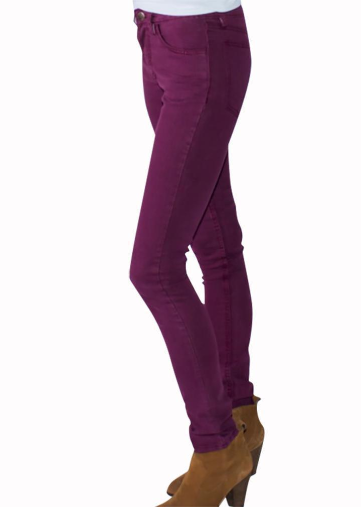Canberry High Waist Skinny Jeans