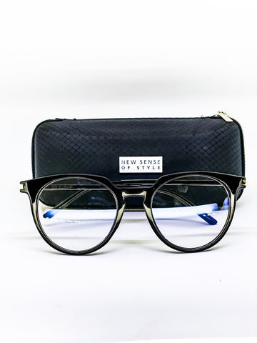 My Pretty Specs Blue Light Glasses (Shiny Black )