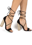 Girl On The Move Strappy Heels