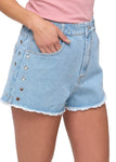 Hippy Denim Cut Off Shorts
