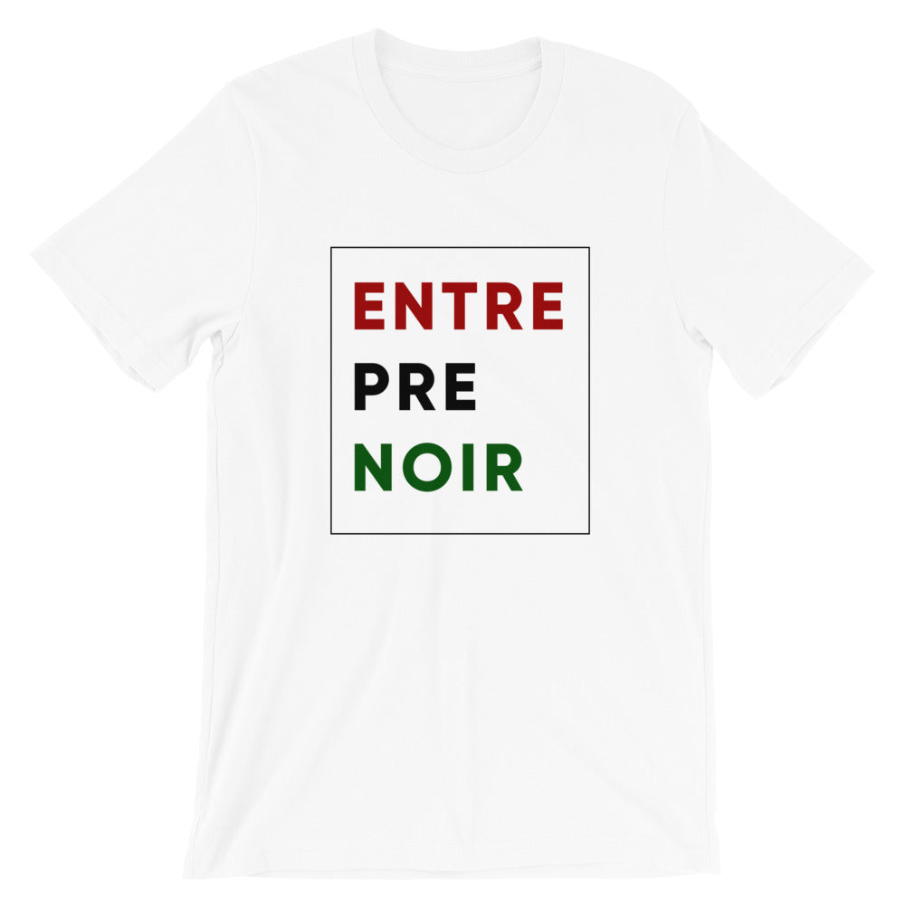 EntrePreNoir T-shirt in Red/Black/Green