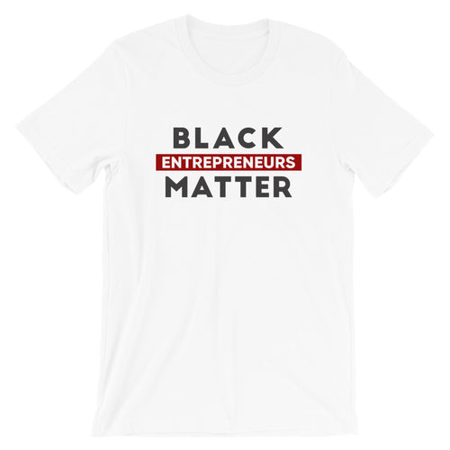 Black Entrepreneurs Matter - Black and Red