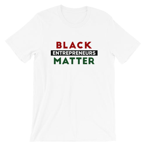 Black Entrepreneurs Matter T-Shirt - Red/Black/Green