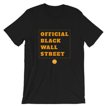 Load image into Gallery viewer, Official Black Wall Street T-Shirt - White/Orange