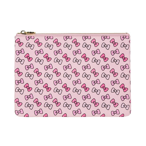 Hello Kitty x Stoney Clover Lane Bow Flat Pouch