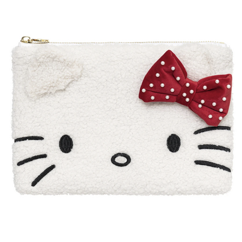 Hello Kitty x Stoney Clover Lane Holiday Cozy Flat Pouch