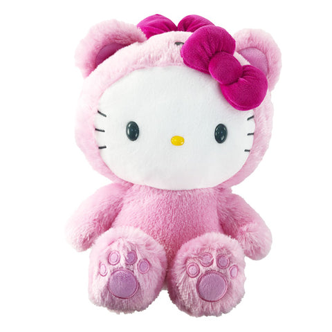 "Hello Kitty Bear Plush Pink 12"", 24"", 32"" Sizes"