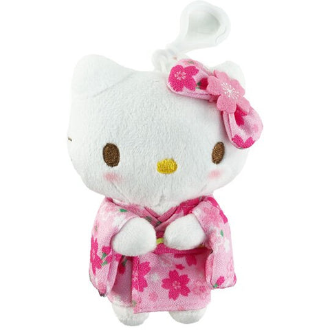 Hello Kitty Sakura Clip-On Mascot