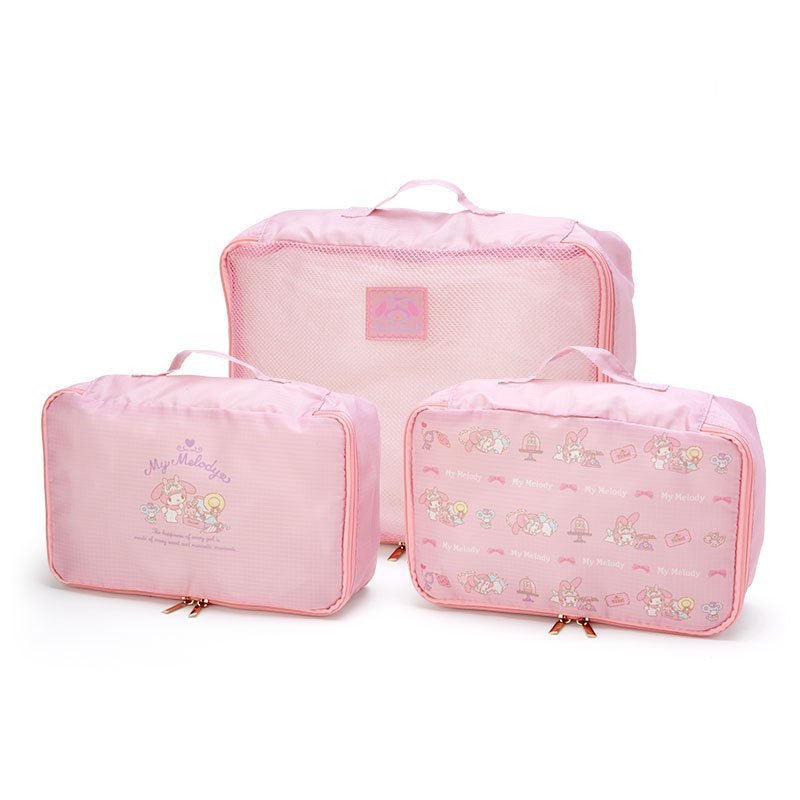 My Melody & Kuromi Baby Collection My Melody Three Piece Travel Set