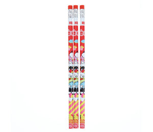 Sanrio Characters 60th Anniversary Pencil Set