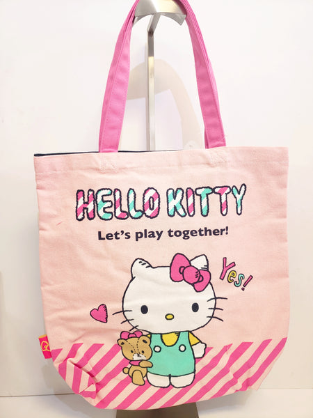 Hello Kitty Canvas Tote Bag
