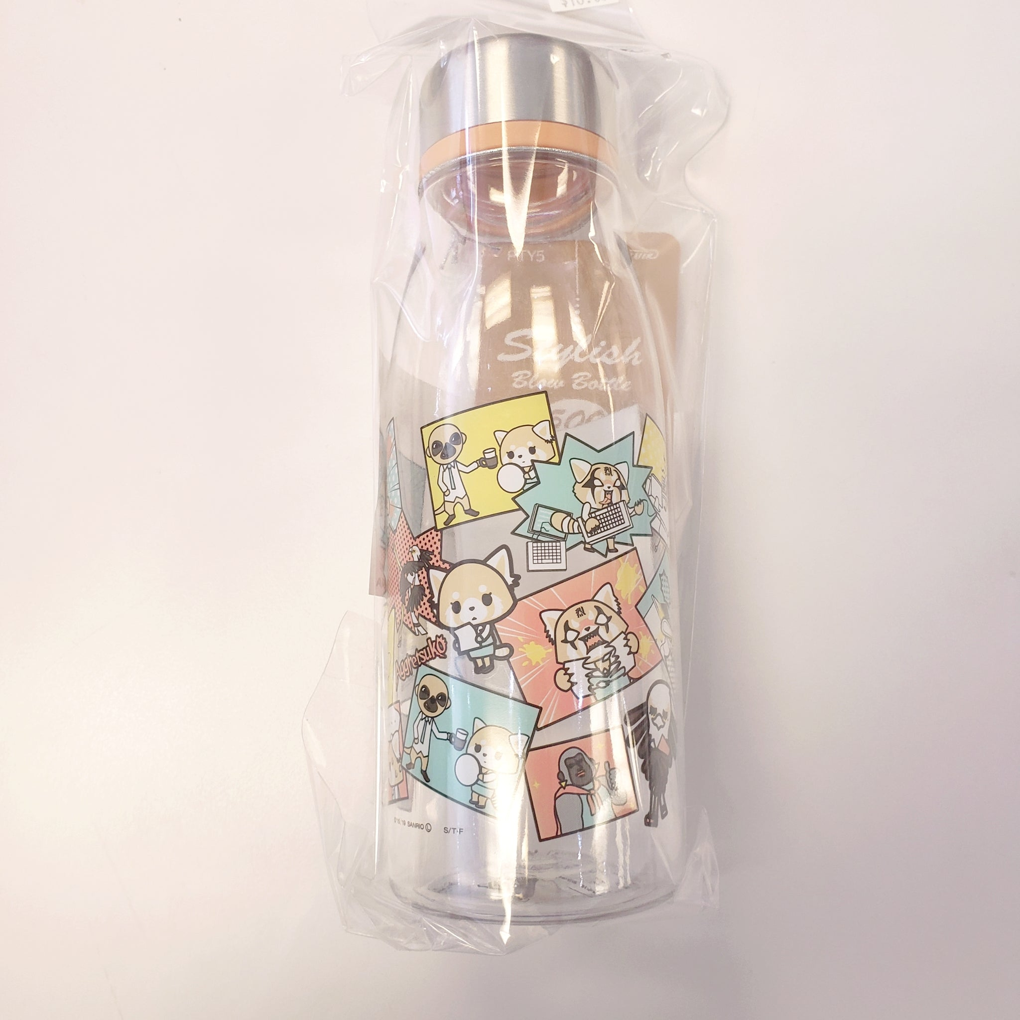 Aggretsuko Water Bottle