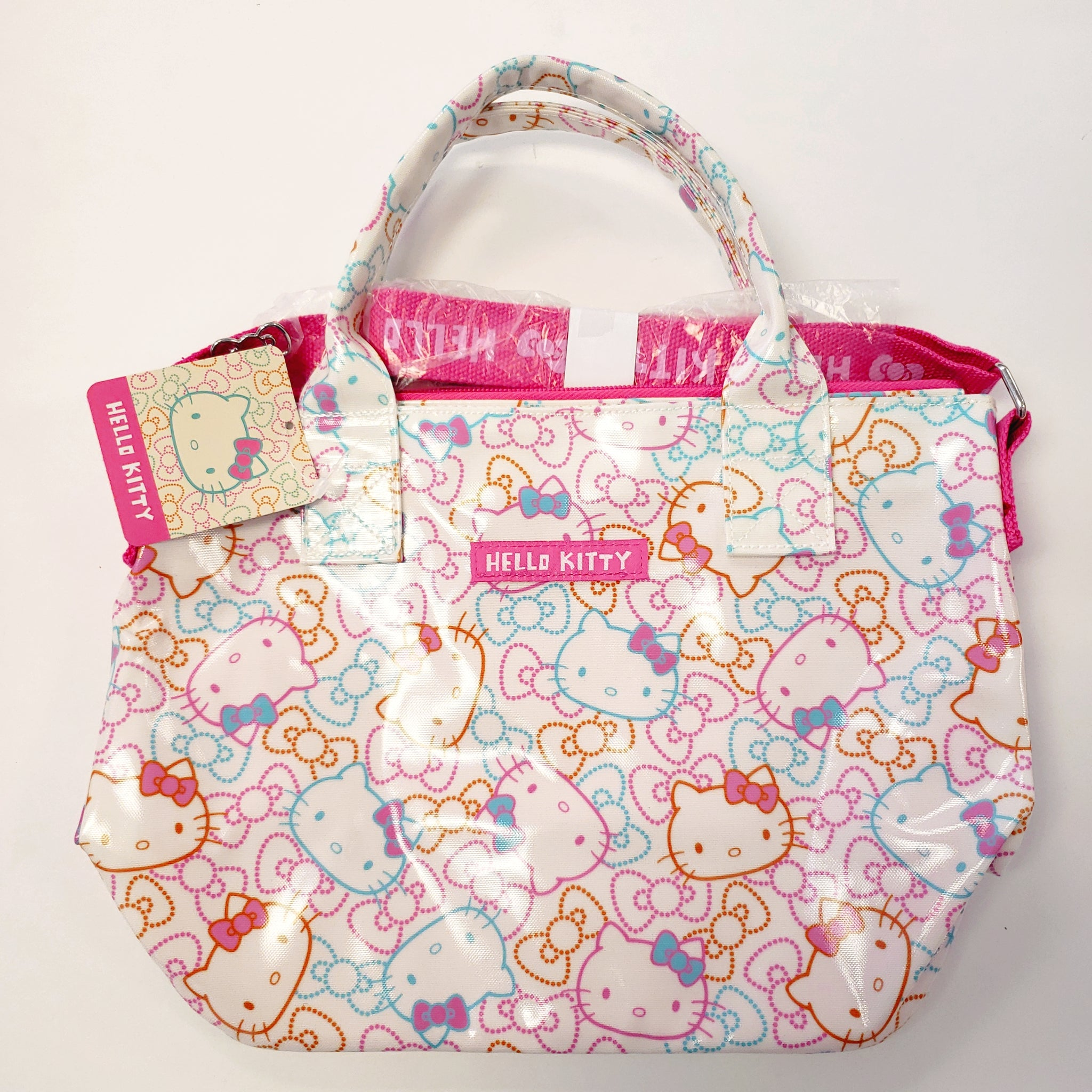 Hello Kitty Color Ribbon Handbag
