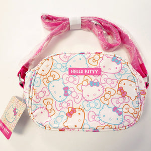 Hello Kitty Color Ribbon Shoulder Pouch