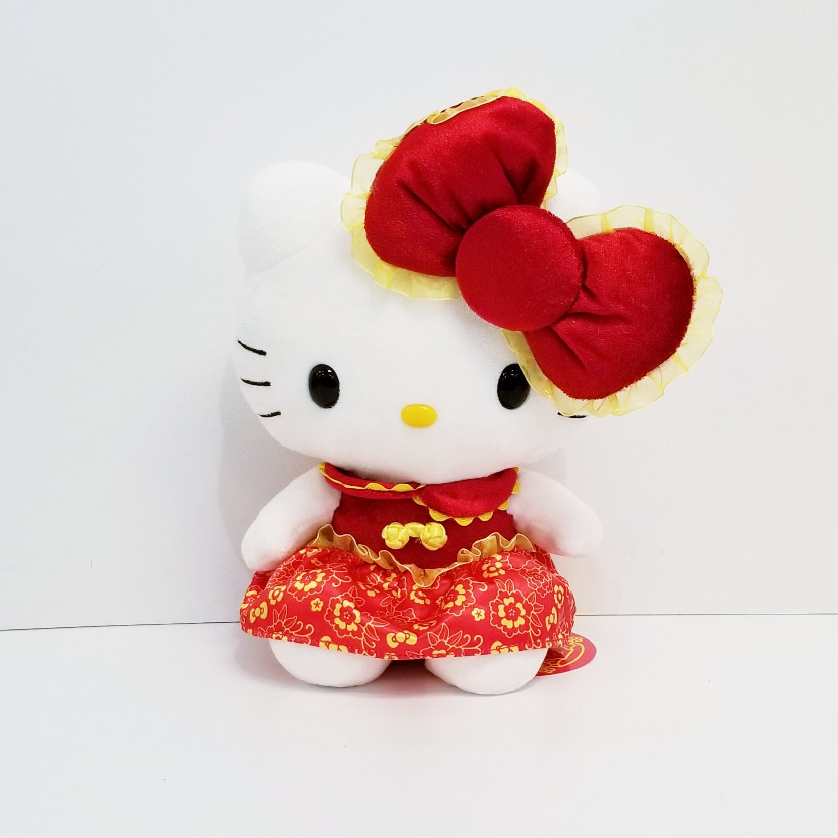 "Hello Kitty 8"" Chinese New Year Plush"