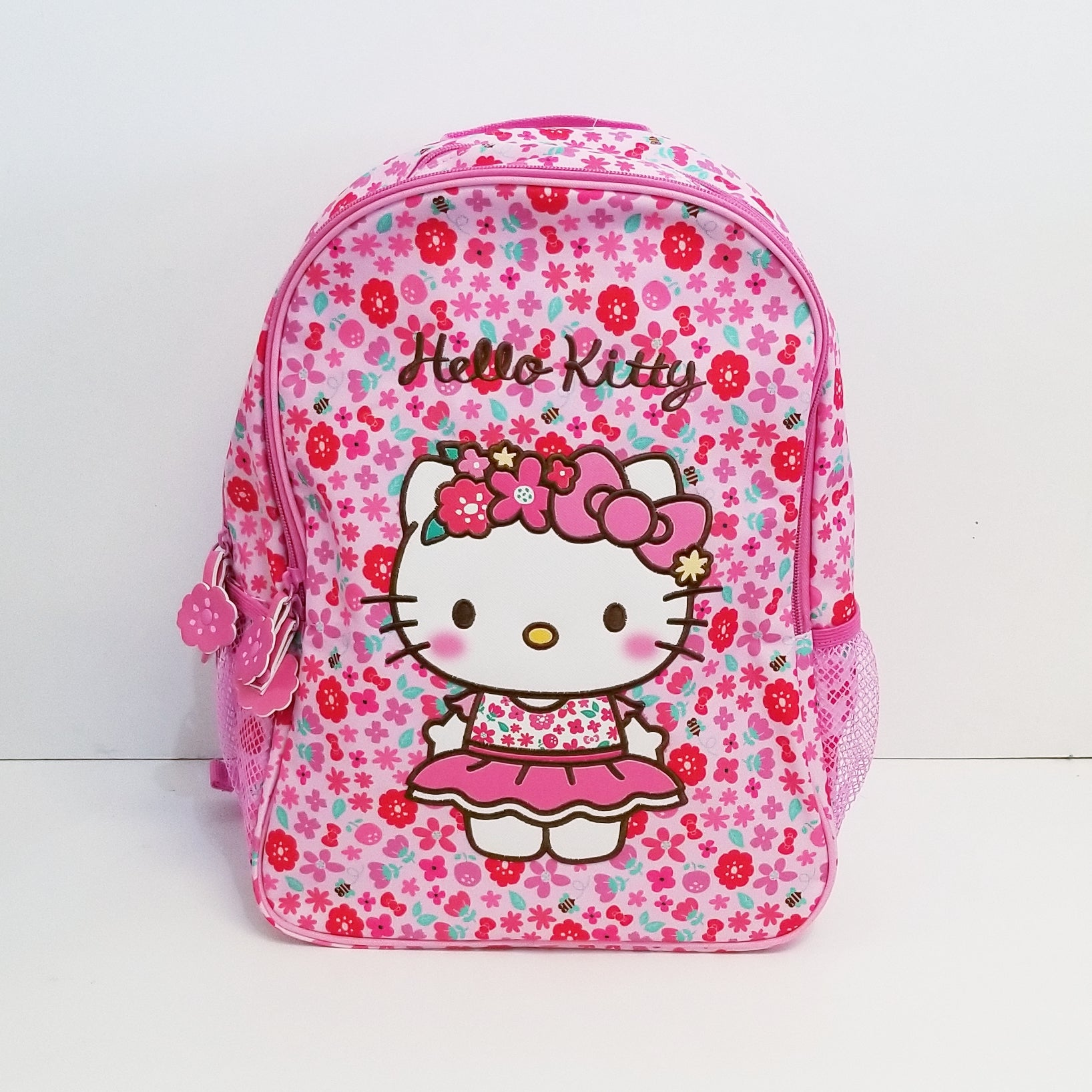 "Hello Kitty Flower Crown 14"" Backpack"